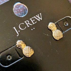 🆕NWT J. Crew Dainty Gold Pineapple Studs